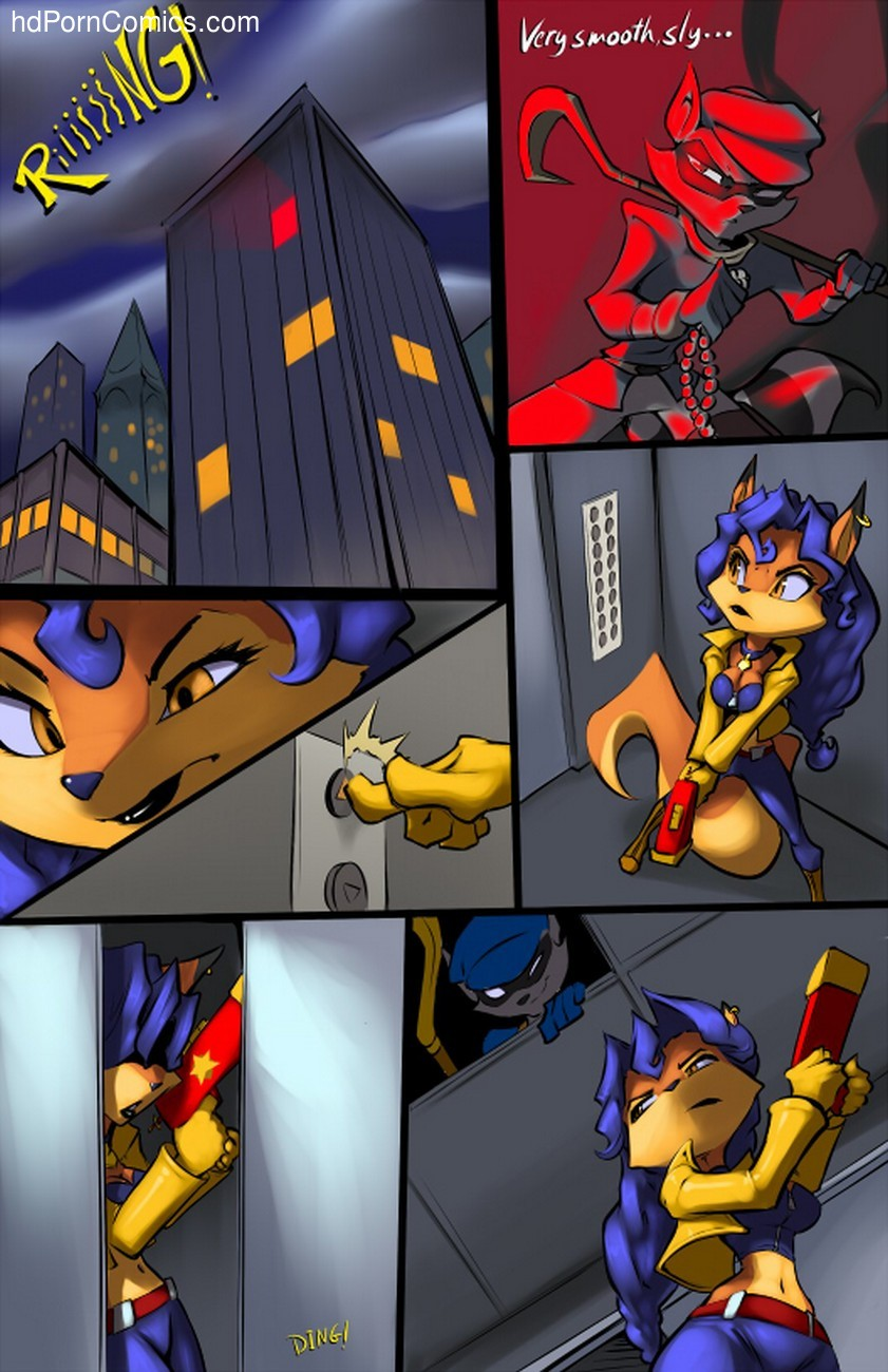 Sly Cooper 2 free sex comic
