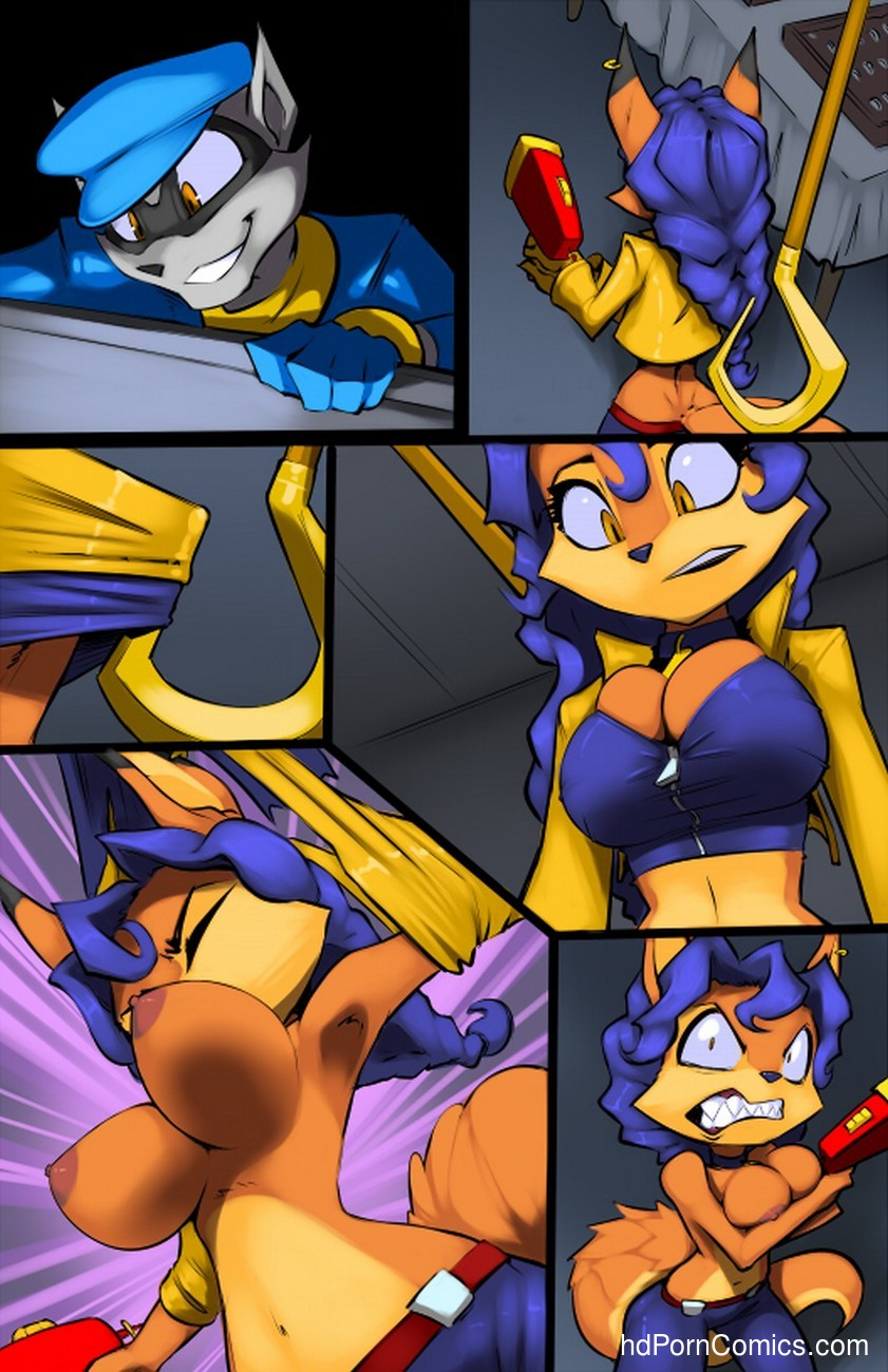 Sly Cooper 3 free sex comic