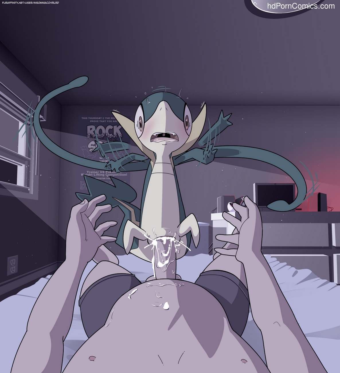 Snivy Night 22 free sex comic