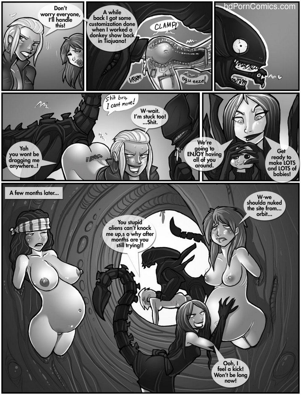 Space Aliens 6 free sex comic