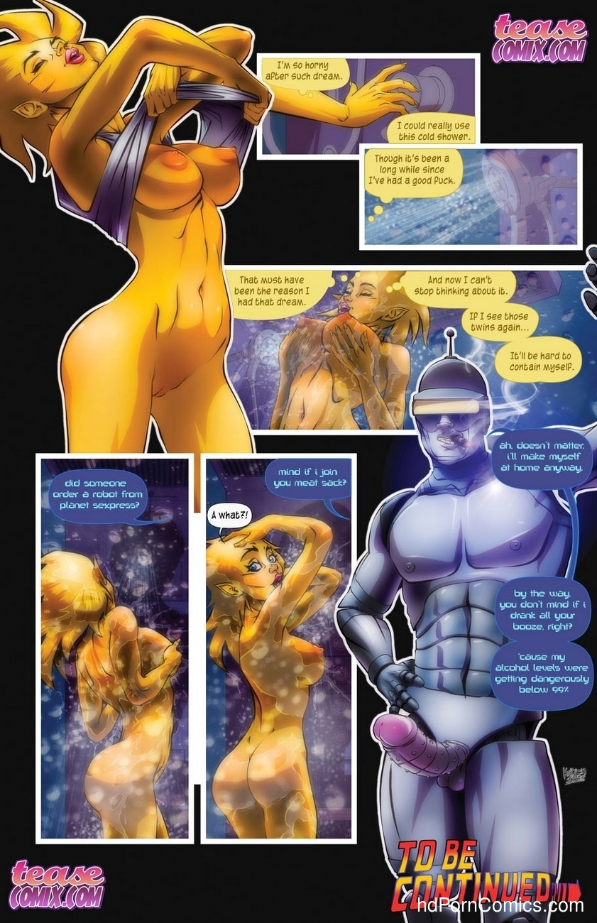 Space Slut Sex Comic