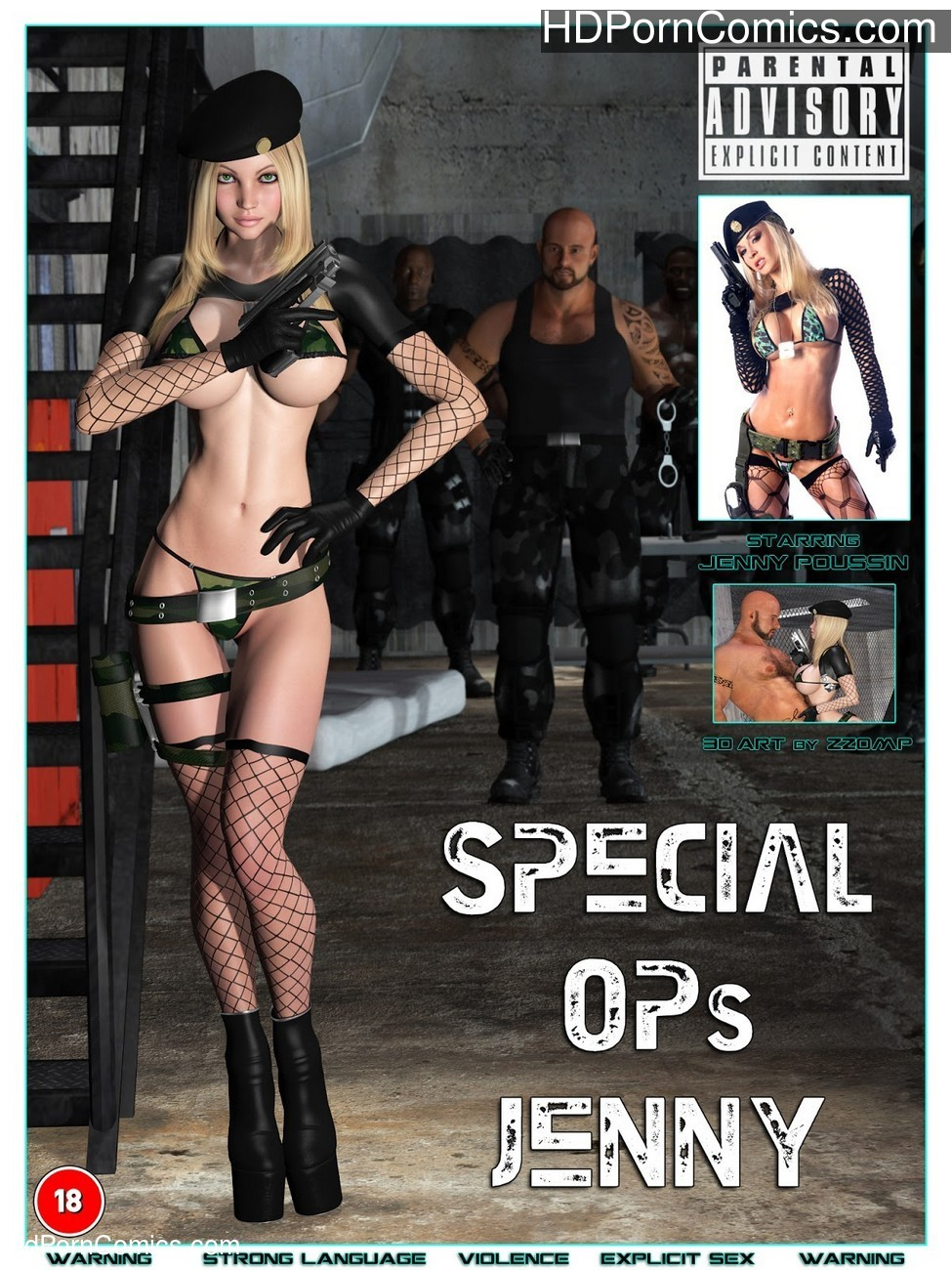 Special Ops – Jennifer Poussin Sex Comic