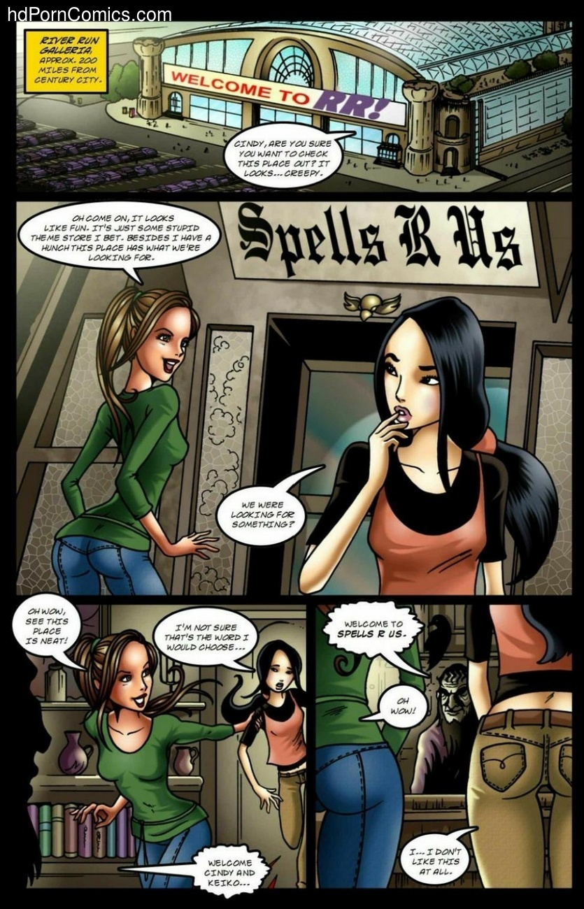 Spells R Us - All Dressed Up 2 free sex comic