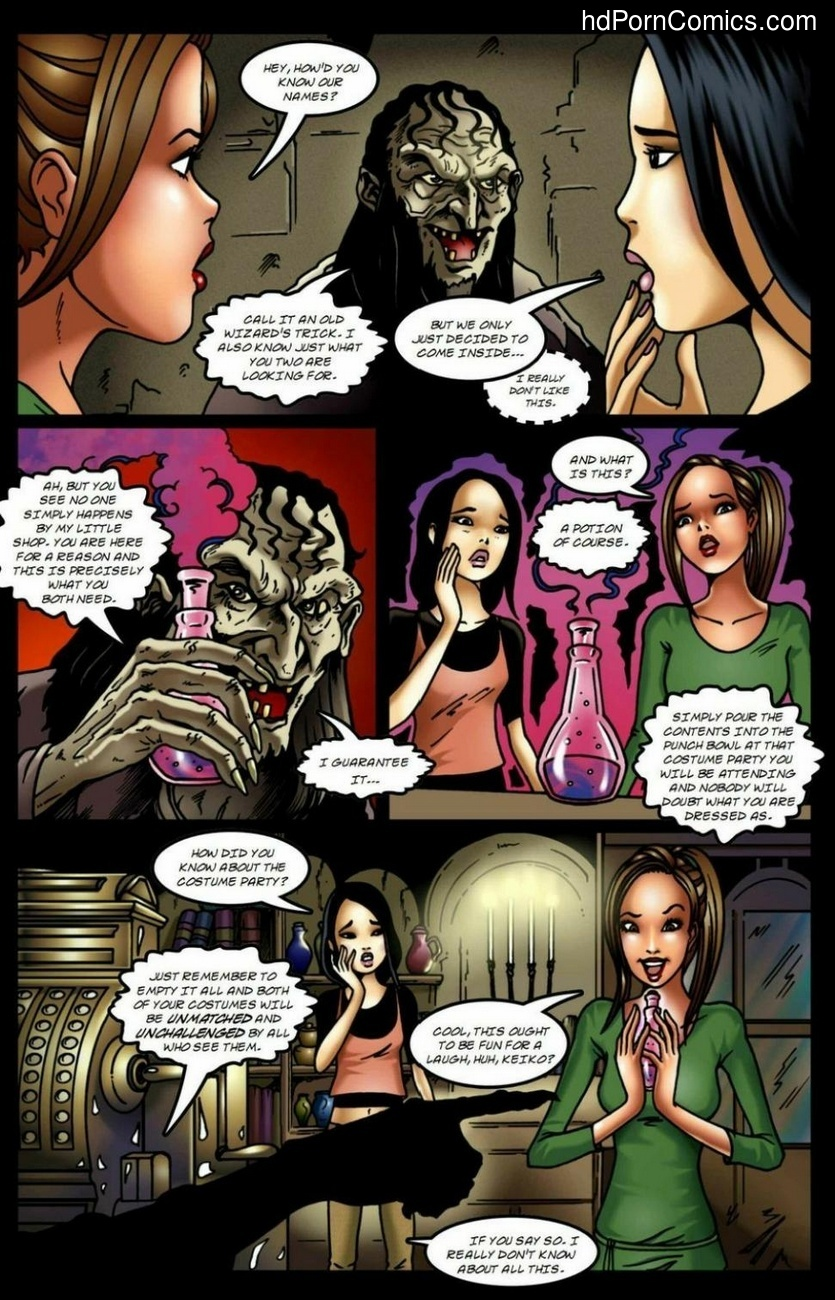 Spells R Us - All Dressed Up 3 free sex comic