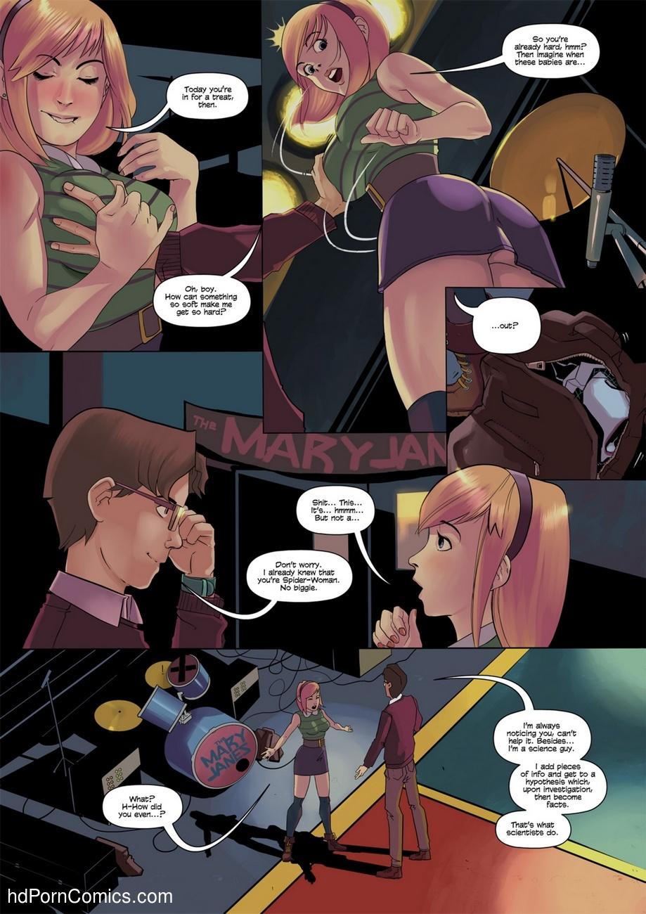Spider-Gwen 4 free sex comic