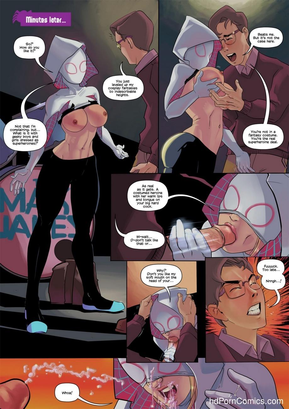 Spider-Gwen 6 free sex comic