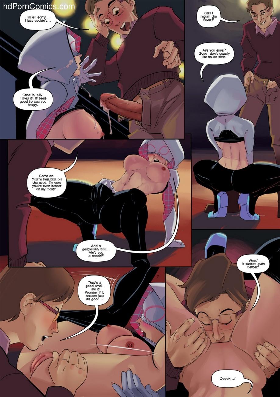 Spider-Gwen 7 free sex comic
