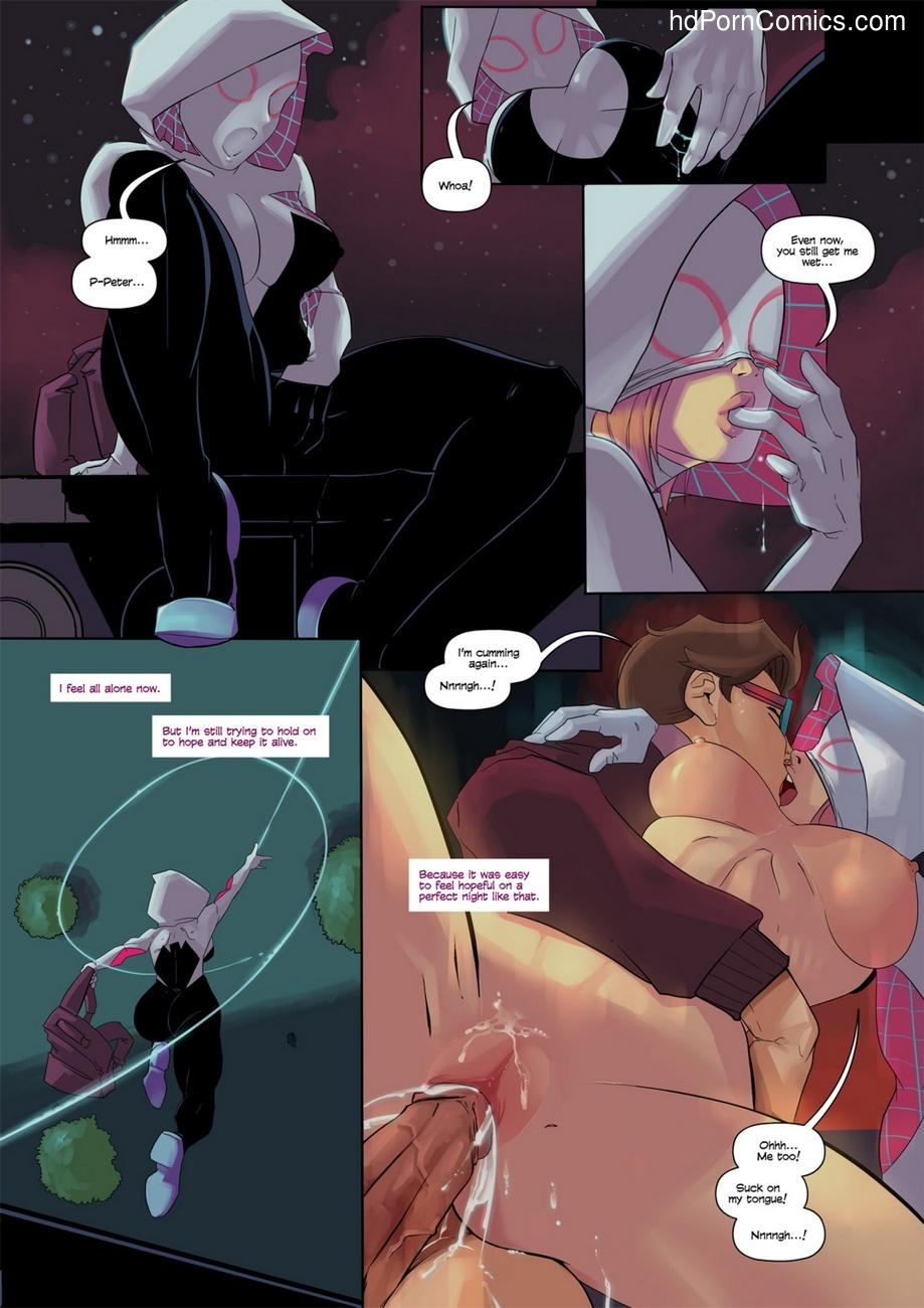 Spider-Gwen 8 free sex comic
