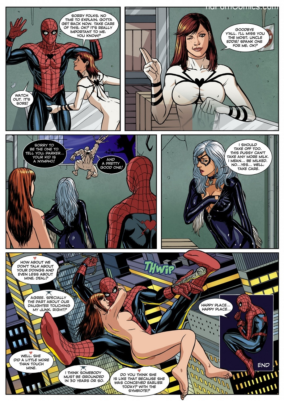 Spider-Man Sexual Symbiosis 1 Sex Comic