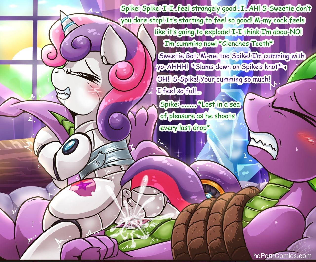 Spike-X-Sweetie-Bot13 free sex comic