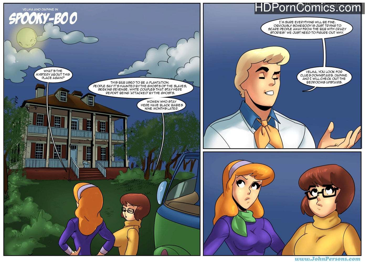 Spooky Doo- Johnpersons free Porn Comic
