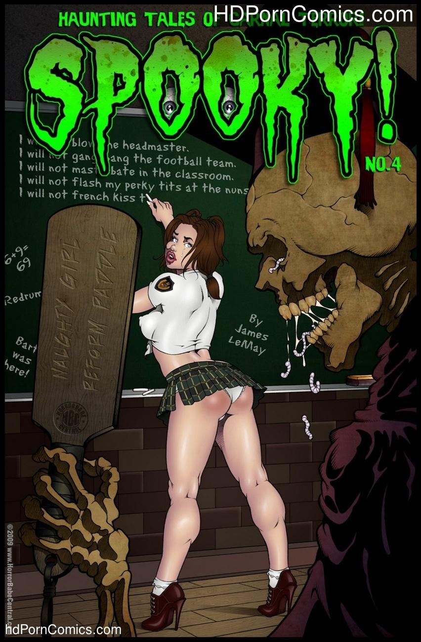 Spooky 4 Sex Comic