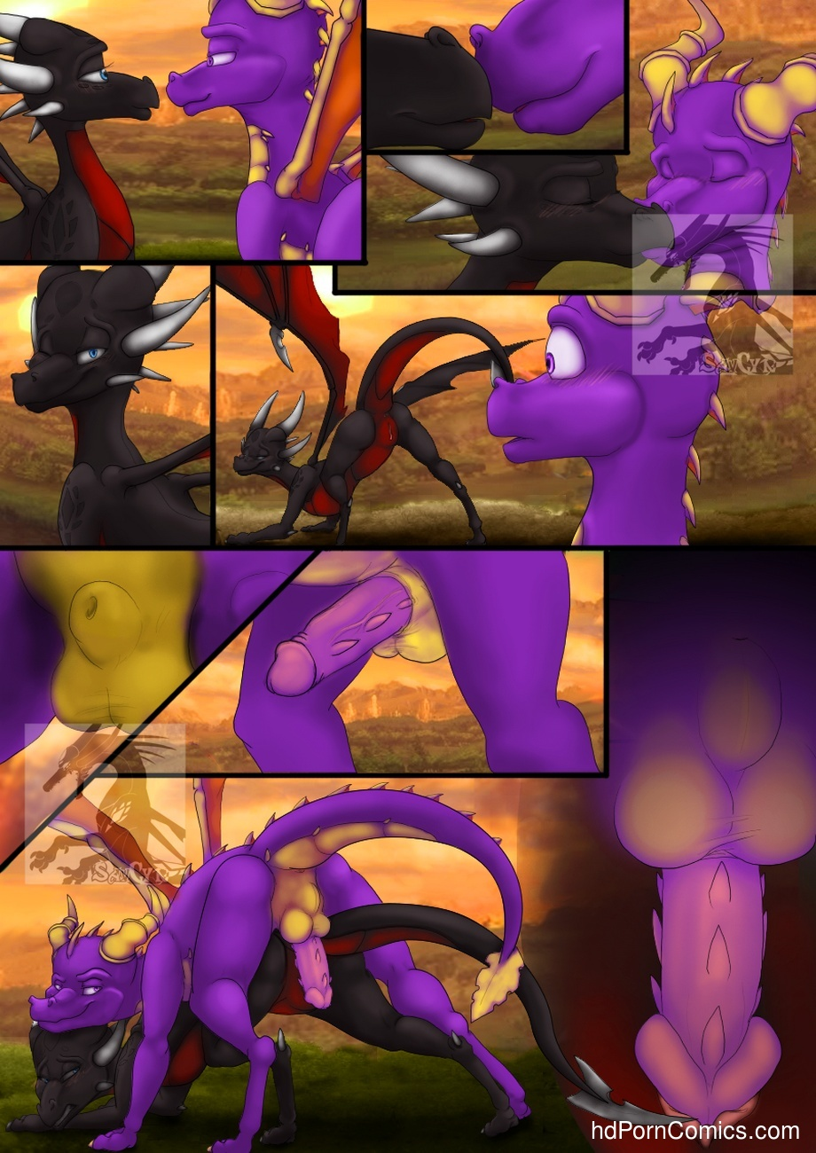 spyro and cynder having sex