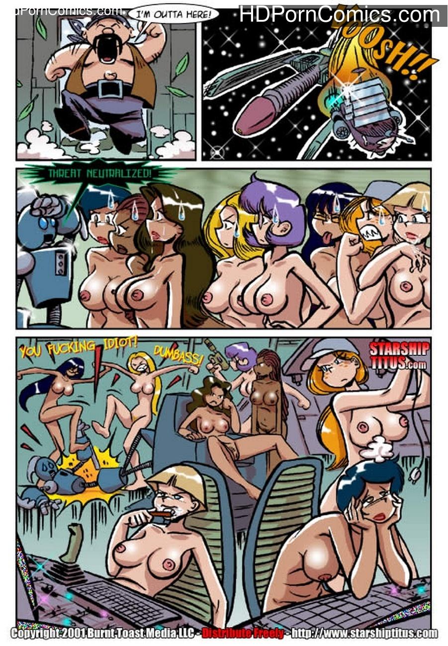 Starship Titus 1 – Here Cums Captain Blarney Sex Comic