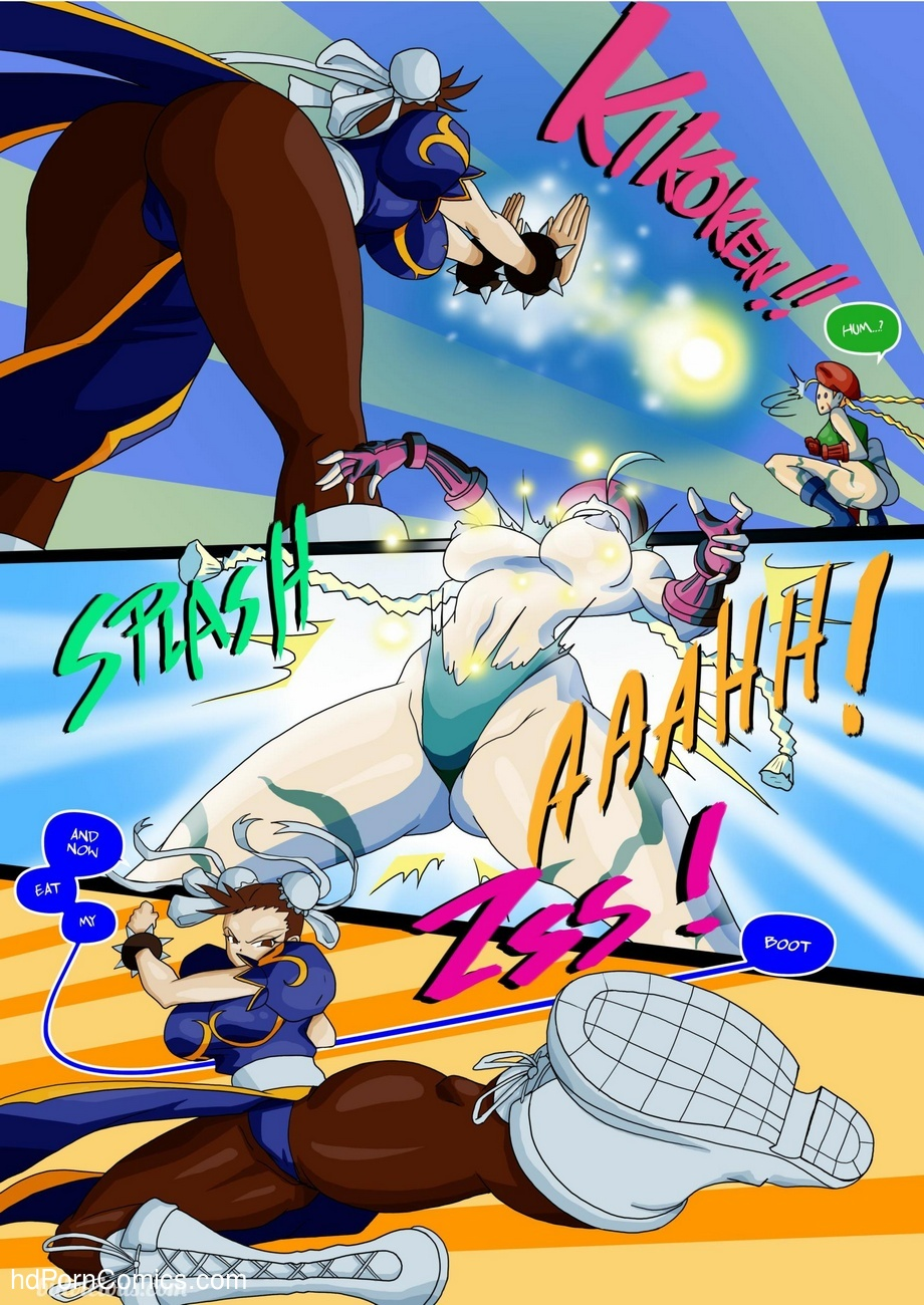 Street Fighter Sex Xxx 11