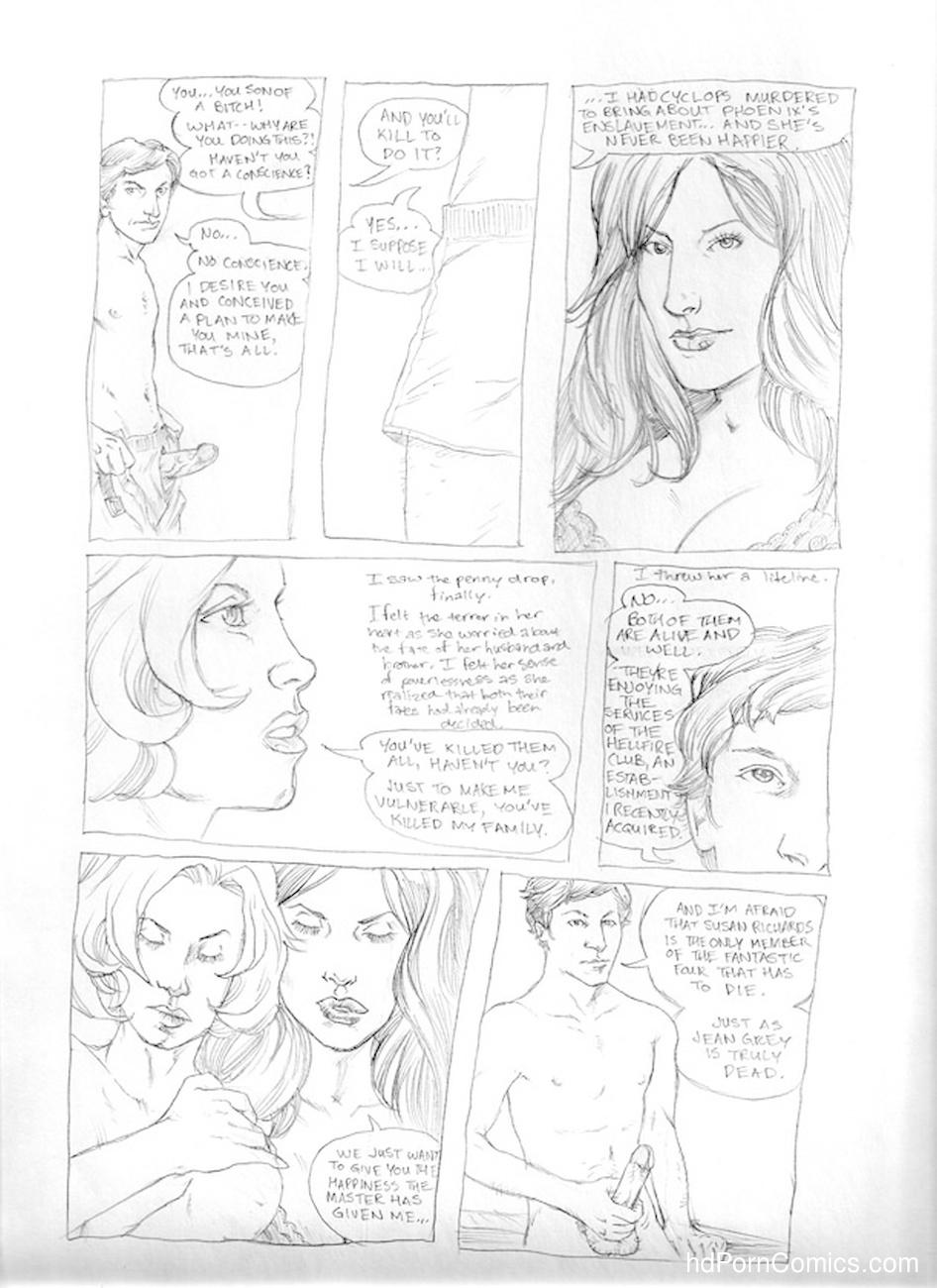 Submission Agenda 5 - The Invisible Woman 12 free sex comic