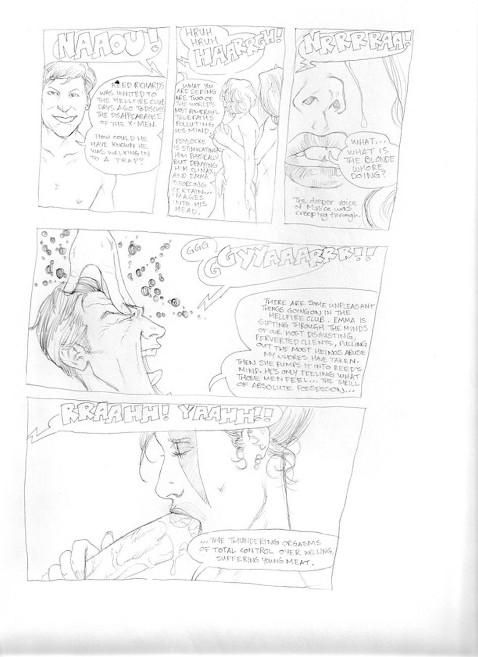 Submission Agenda 5 - The Invisible Woman 24 free sex comic