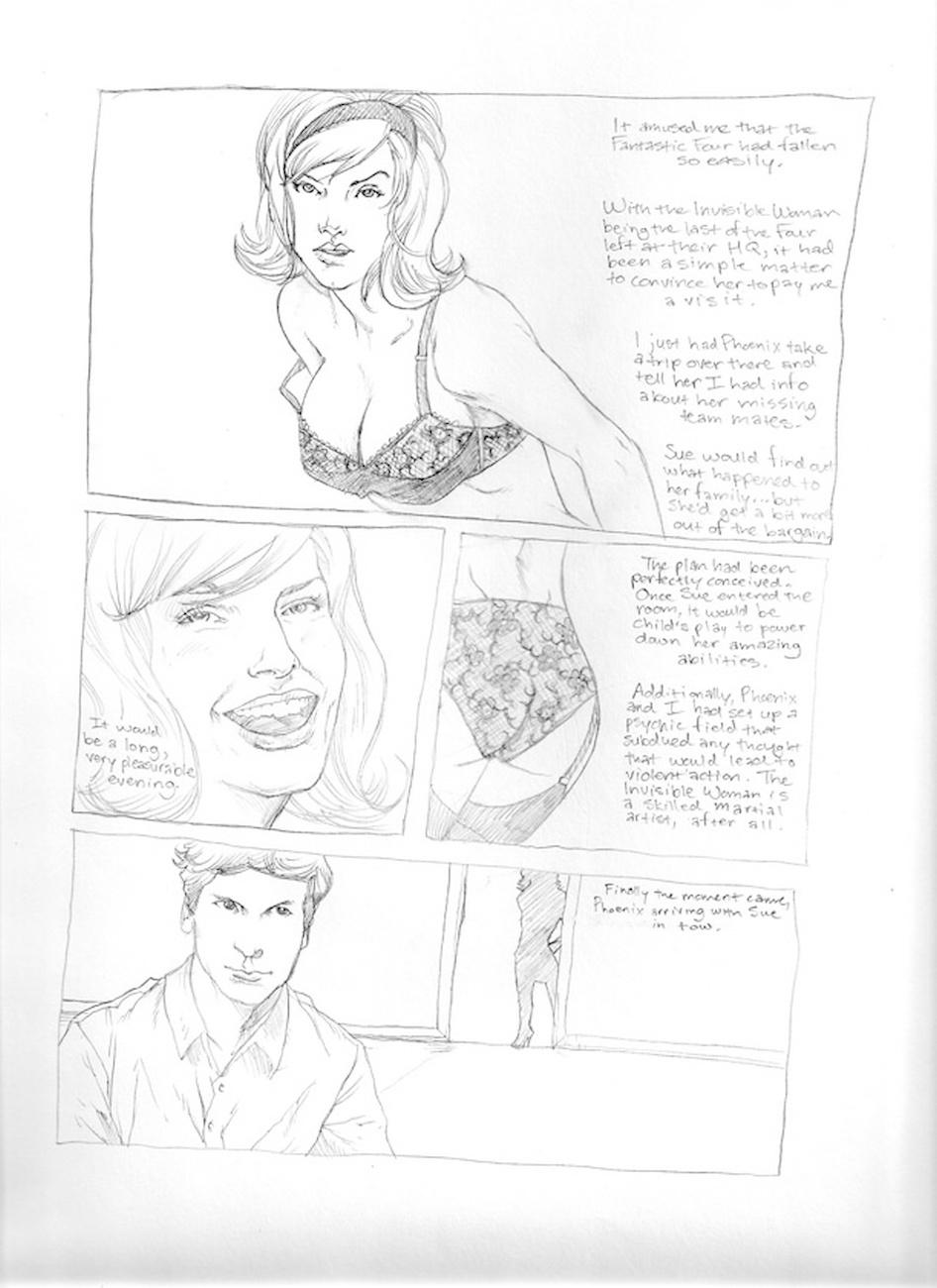 Submission Agenda 5 - The Invisible Woman 3 free sex comic
