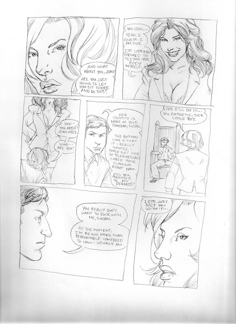 Submission Agenda 5 - The Invisible Woman 7 free sex comic