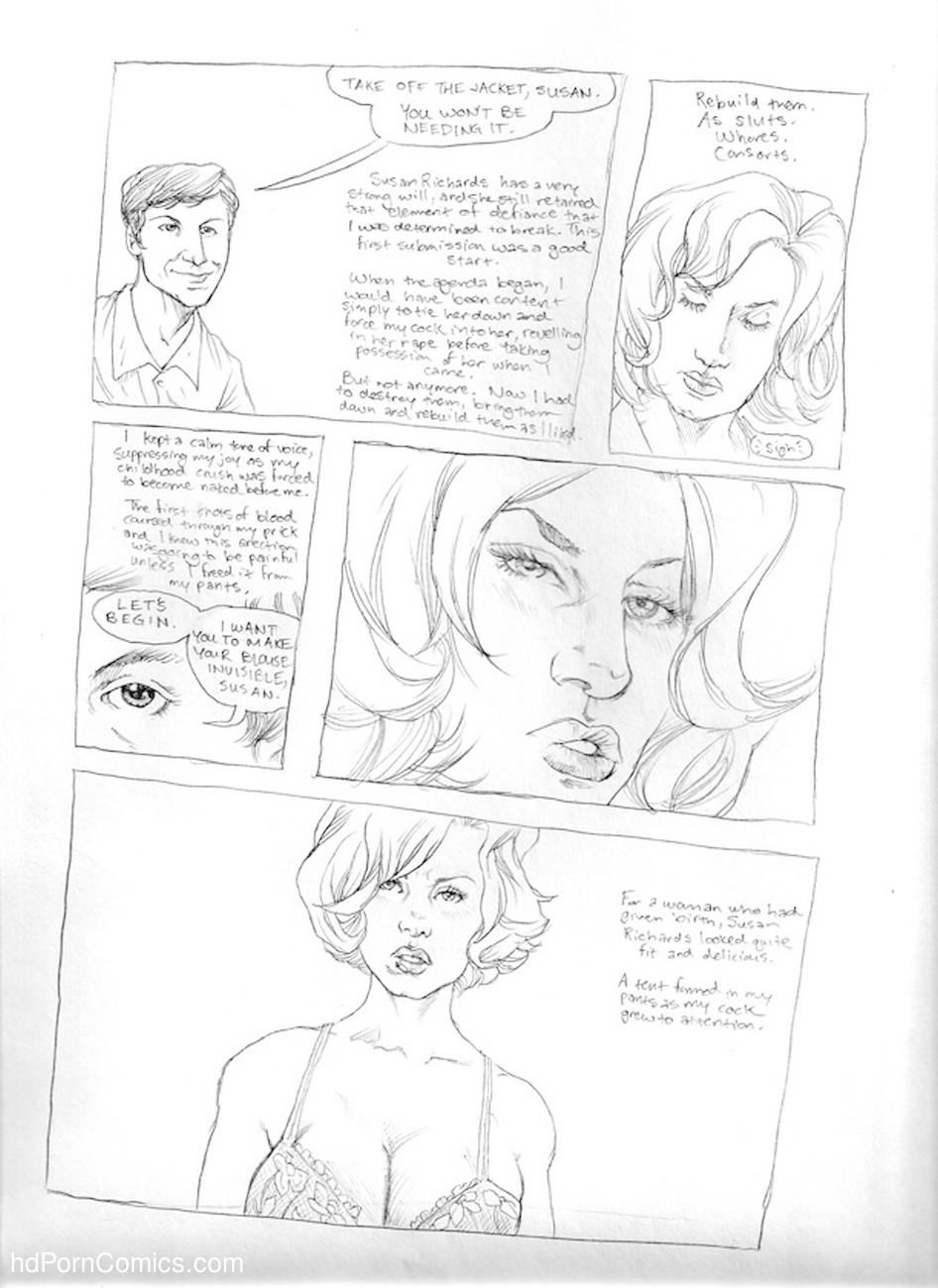 Submission Agenda 5 - The Invisible Woman 8 free sex comic