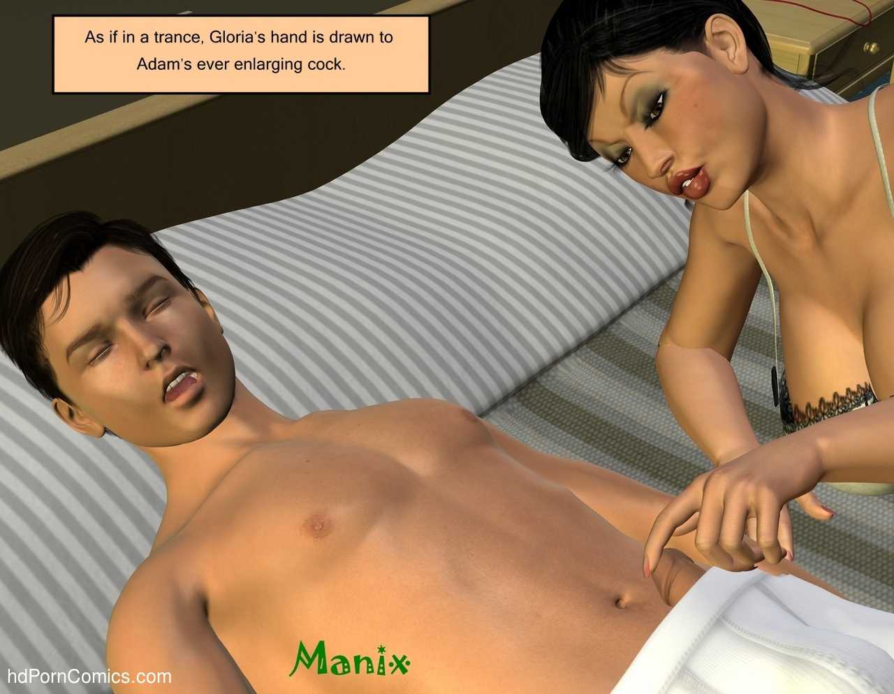 Summer Salsa 80 free sex comic