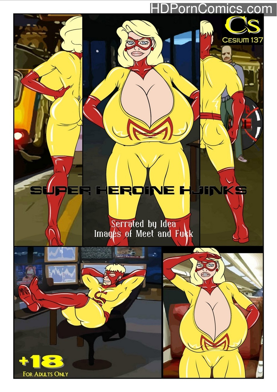Super Heroine Hjinks Sex Comic