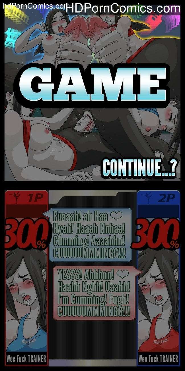Super Sexual Battle Mirror Match 1 – Player 1 VS Player 2 Sex Comic