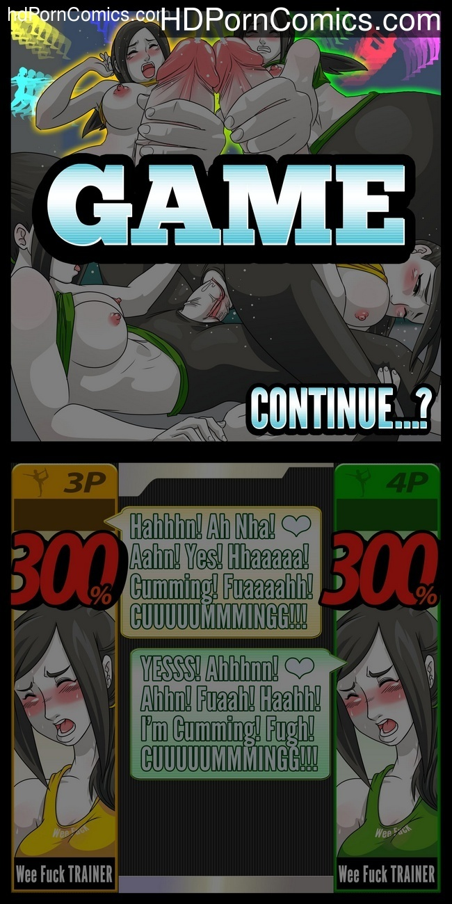 Super Sexual Battle Mirror Match 2 – Player 3 VS Player 4 Sex Comic