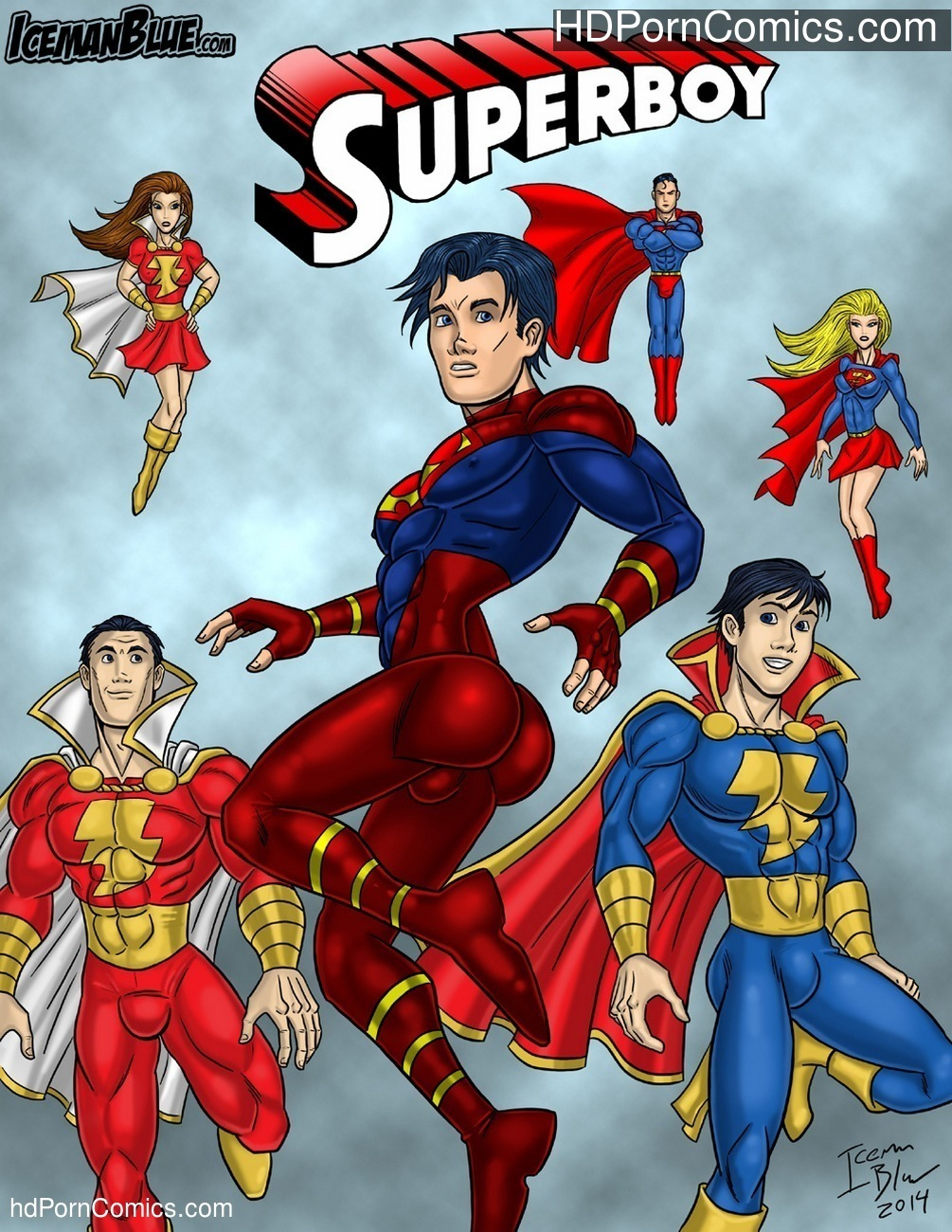 Superboy Sex Comic