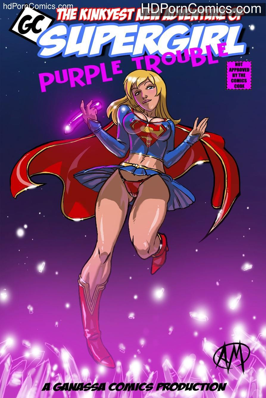 Supergirl -Purple Trouble free Cartoon Porn Comic