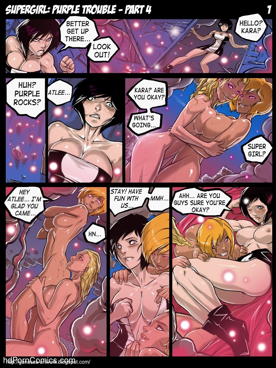 Supergirl -Purple Trouble8 free sex comic