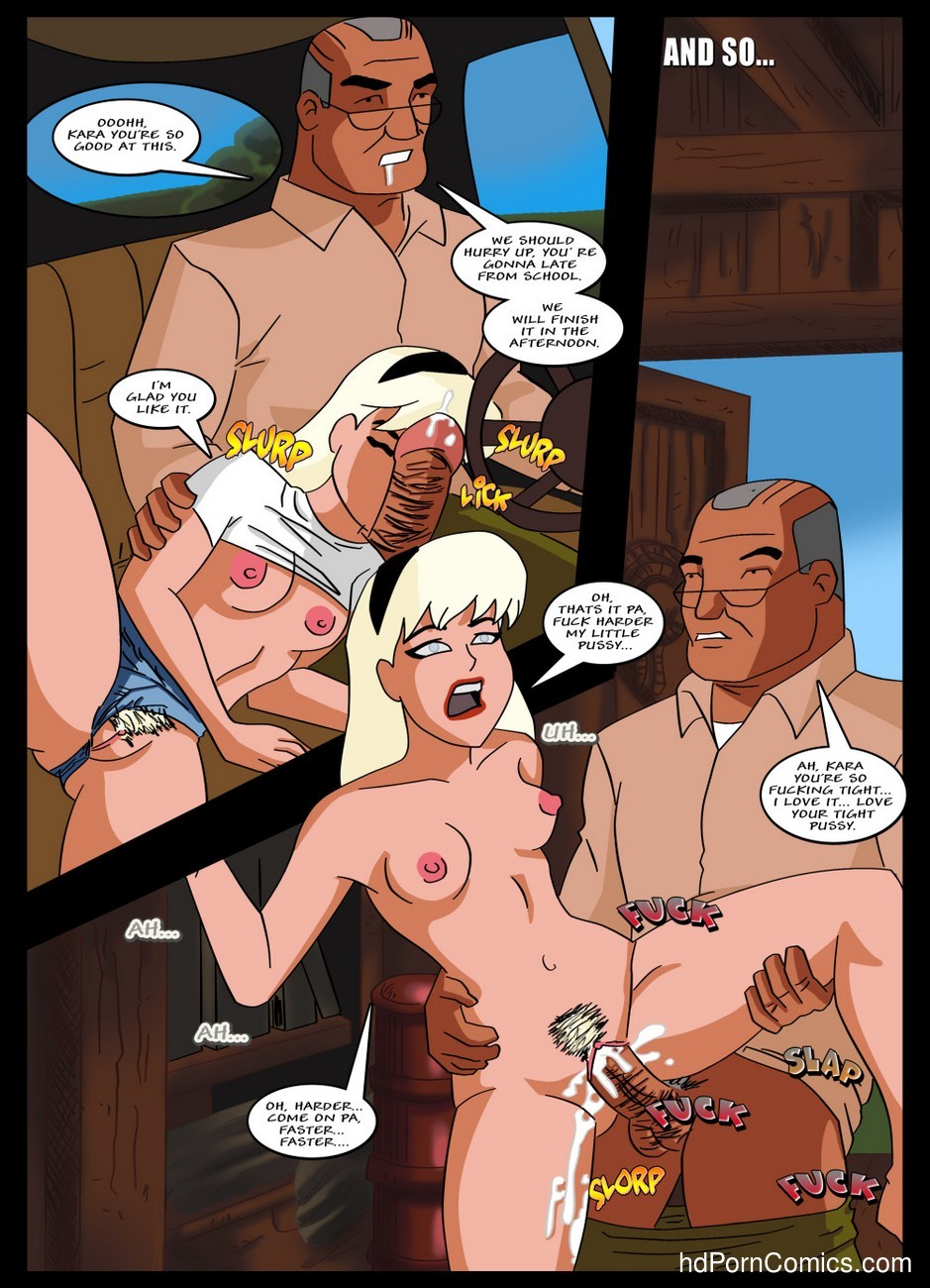 Supergirl Adventures 1 - Horny Little Girl 14 free sex comic