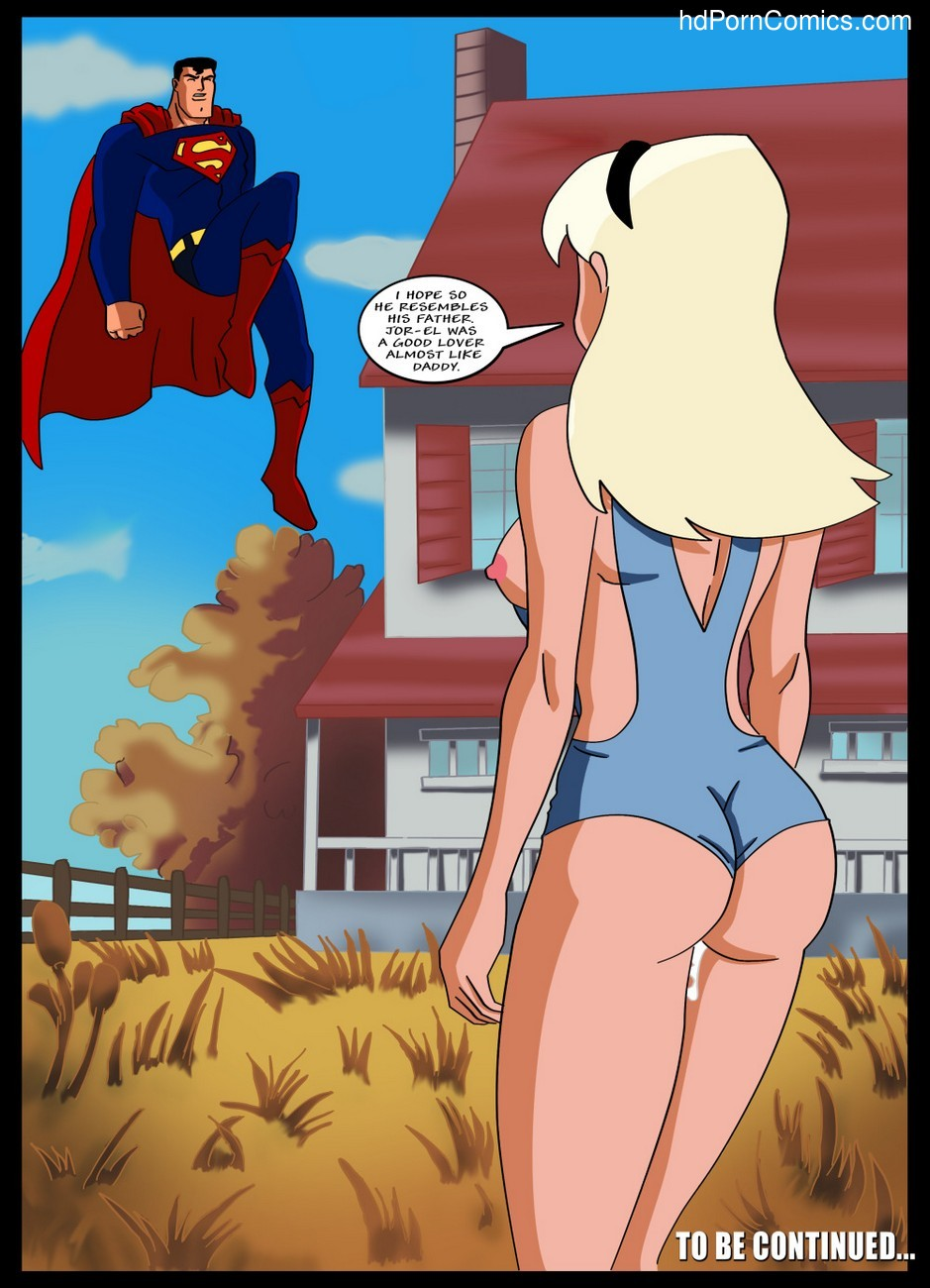 Superman cartoon porn