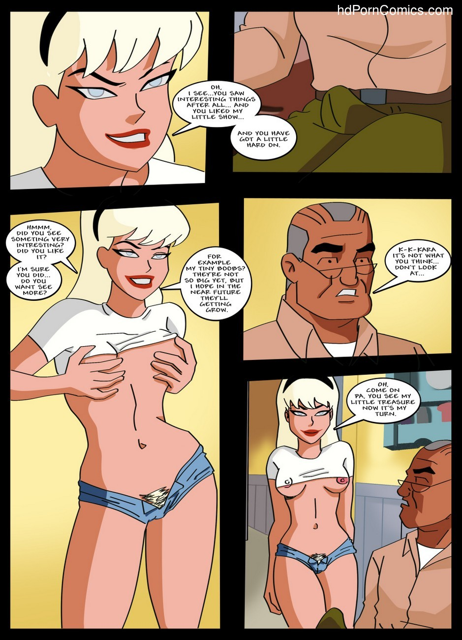 Supergirl Adventures 1 - Horny Little Girl 6 free sex comic