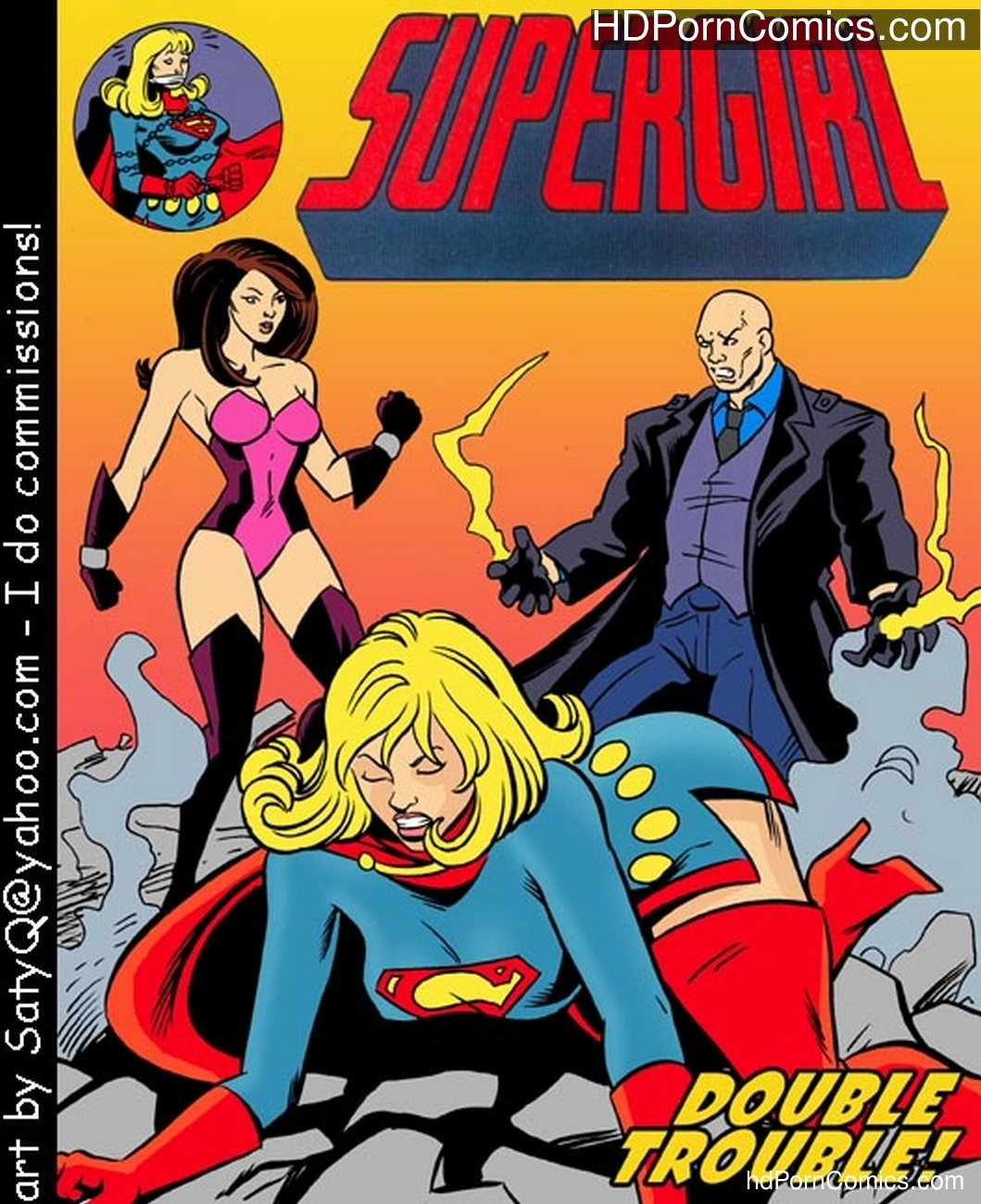 Supergirl Double Trouble comic porn