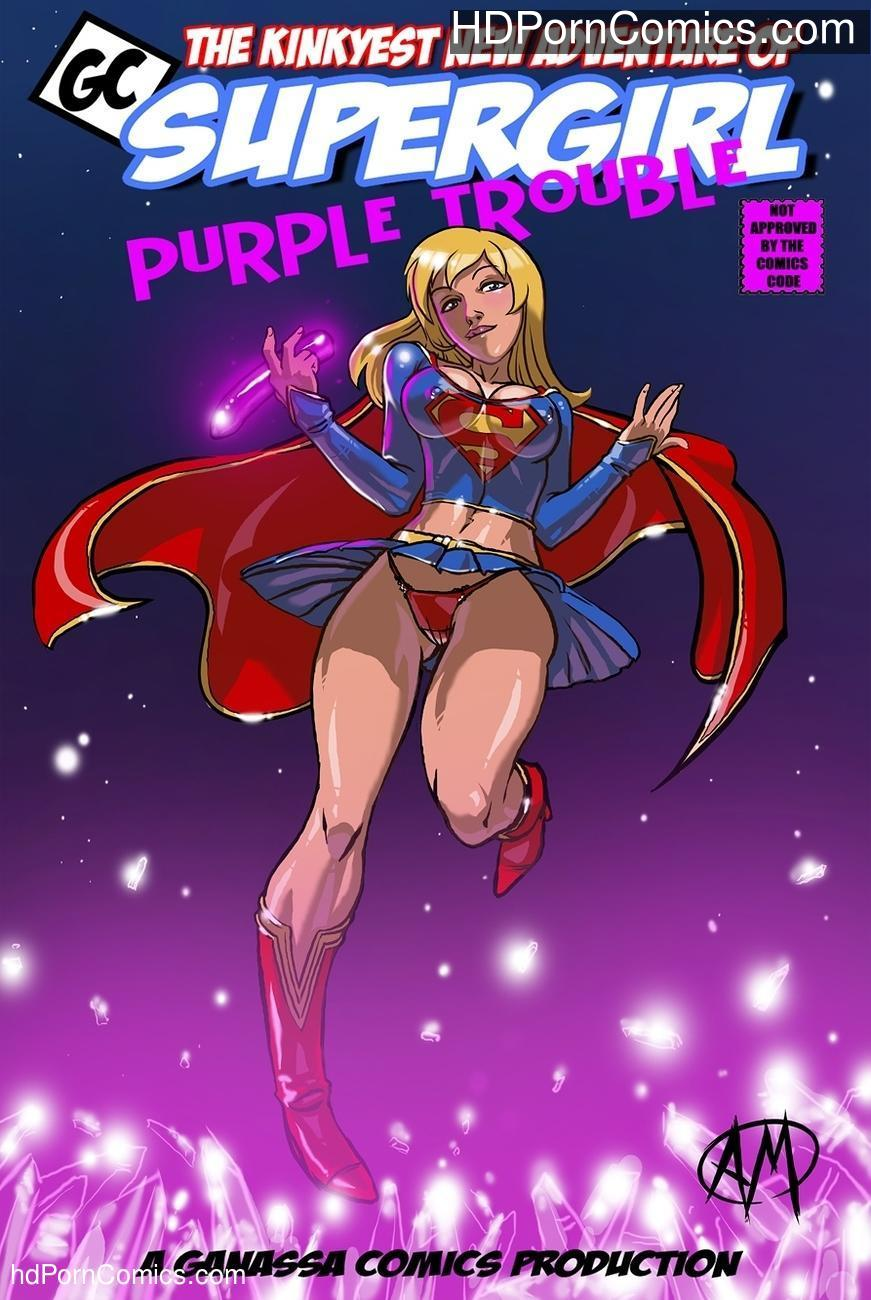 Supergirl Purple Trouble Sex Comic