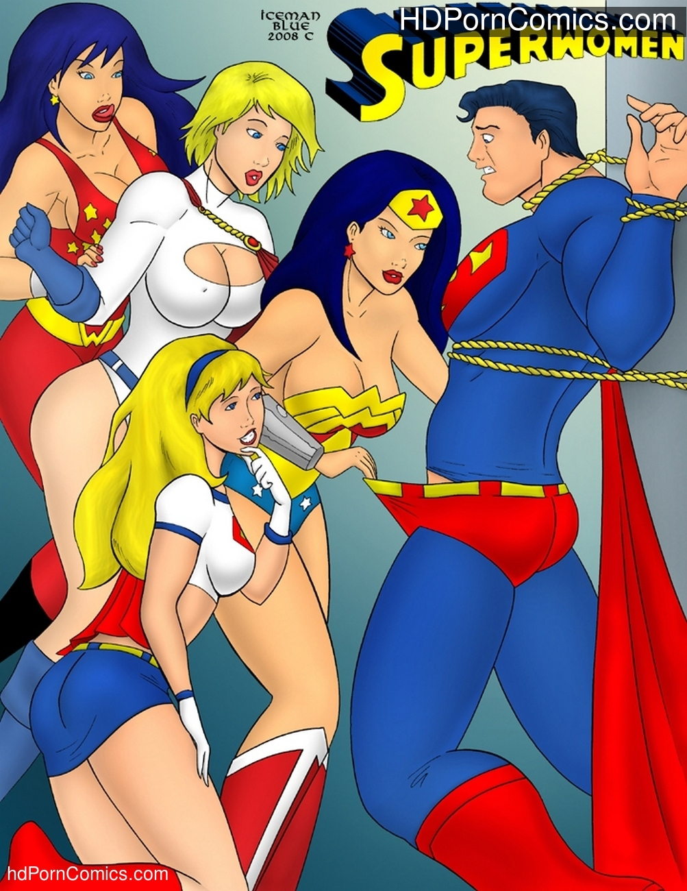 Superwomen Sex Comic