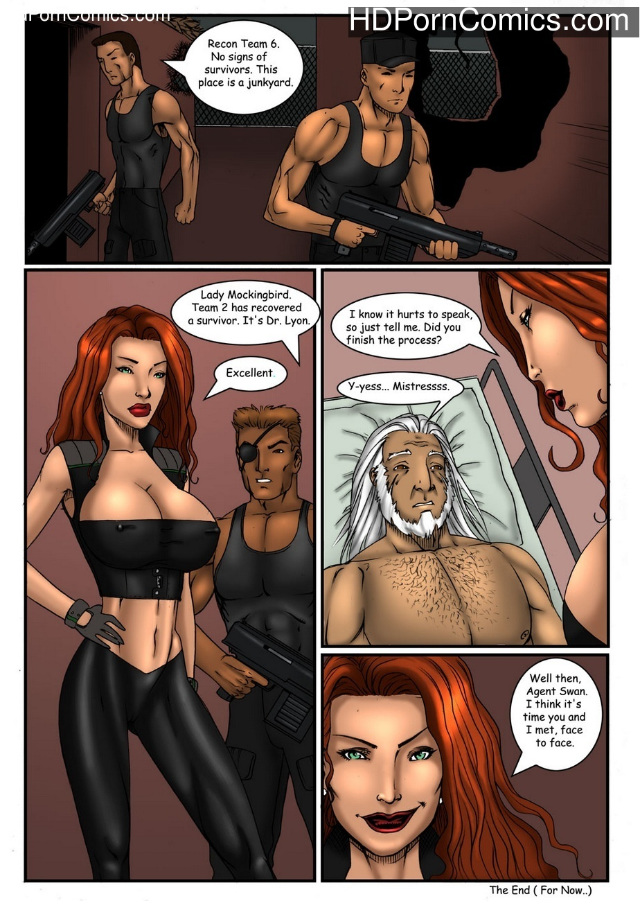 Swan – Agent Of Babe – Sins Of The Sister – Into The Lyons Den Sex Comic