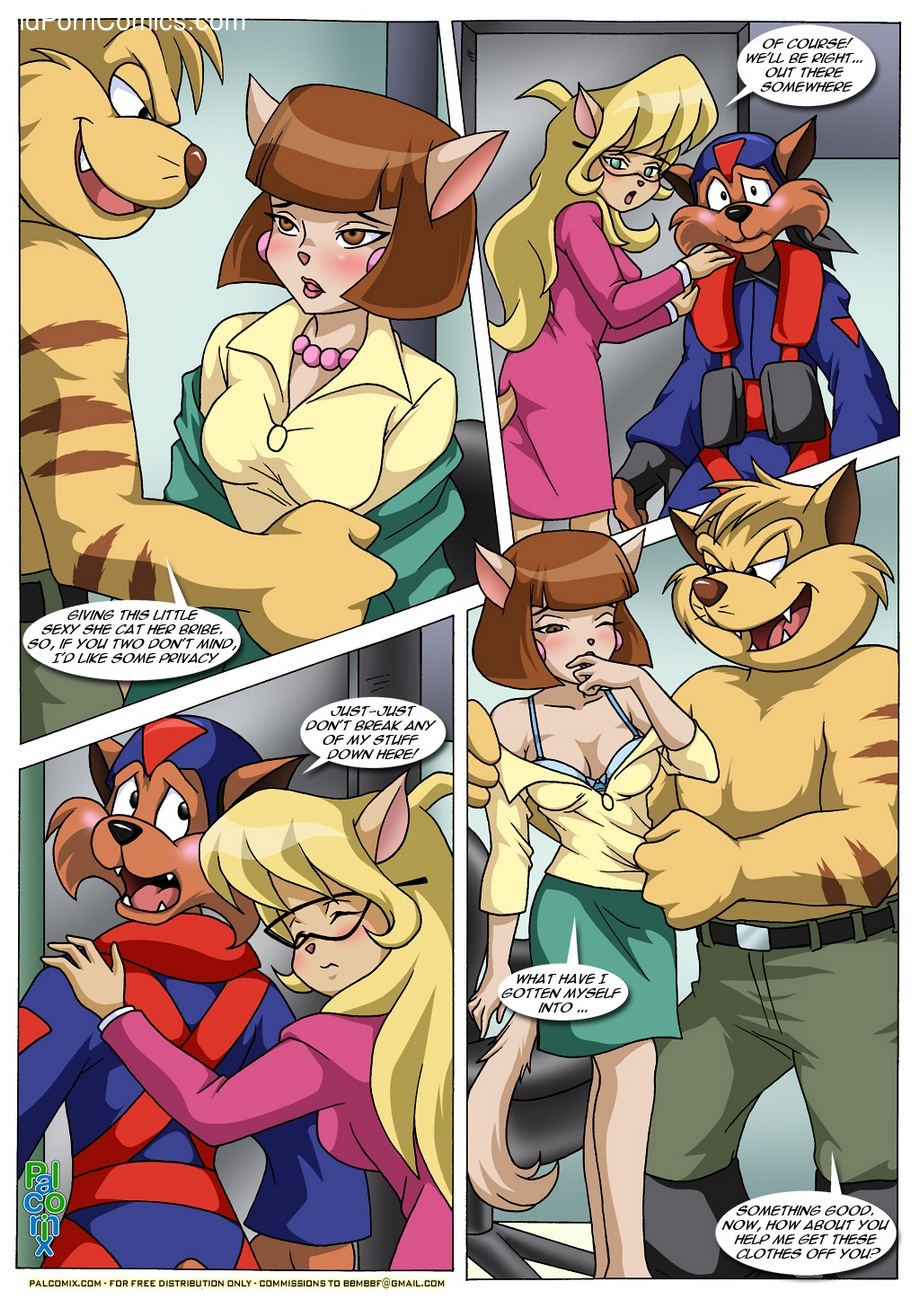 Swat Kats - Busted 6 free sex comic