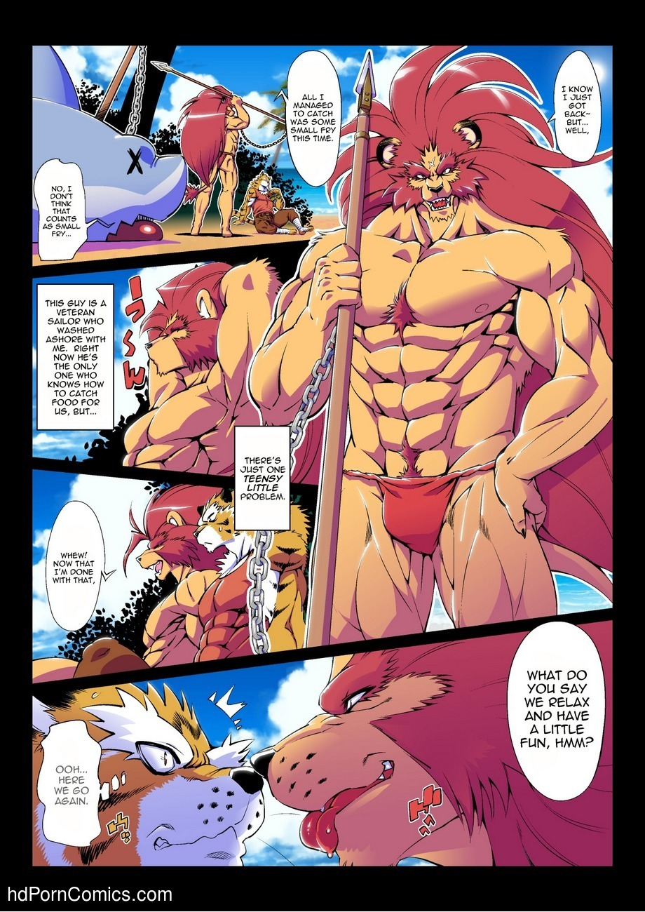 Tale Of A Deserted Island 3 free sex comic