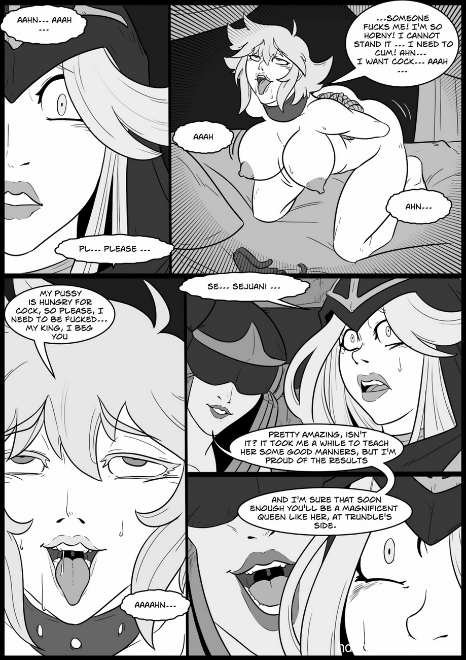 Tales Of The Troll King 3 - Ashe 9 free sex comic