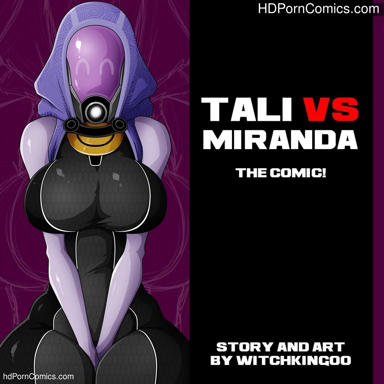 Tali vs Miranda Sex Comic