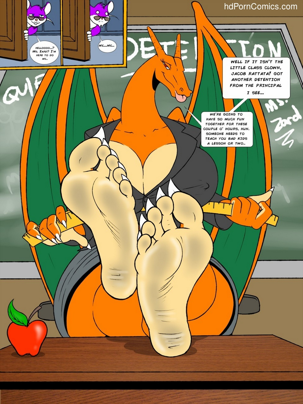 Teaching A Lesson 2 free sex comic