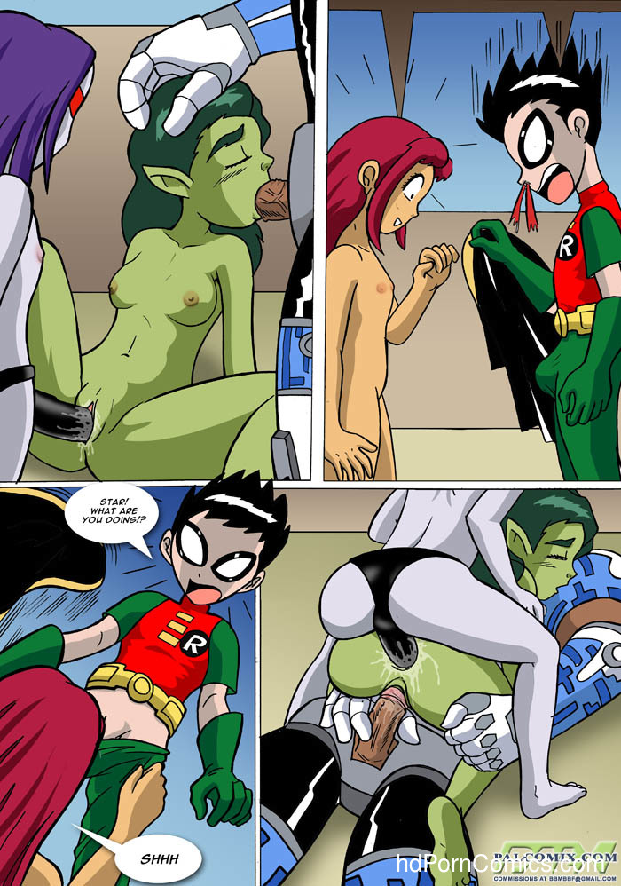 Teen Titans - Loli Titans10 free sex comic