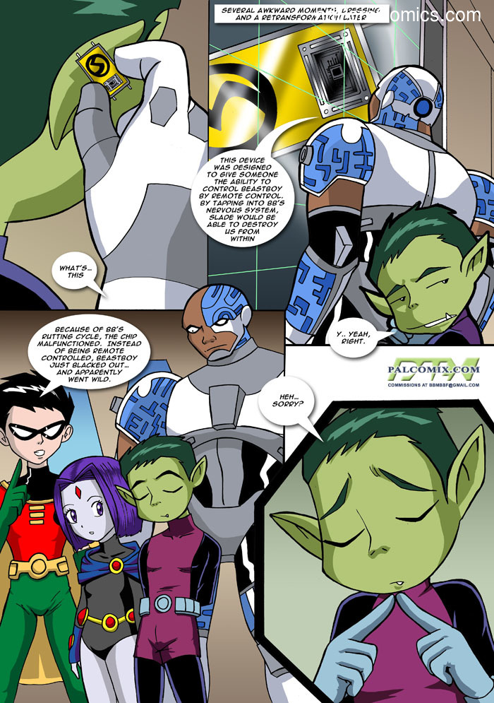 Teen Titans - Loli Titans12 free sex comic