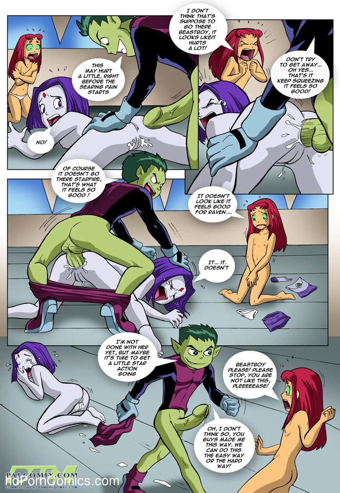Teen Titans - Loli Titans3 free sex comic