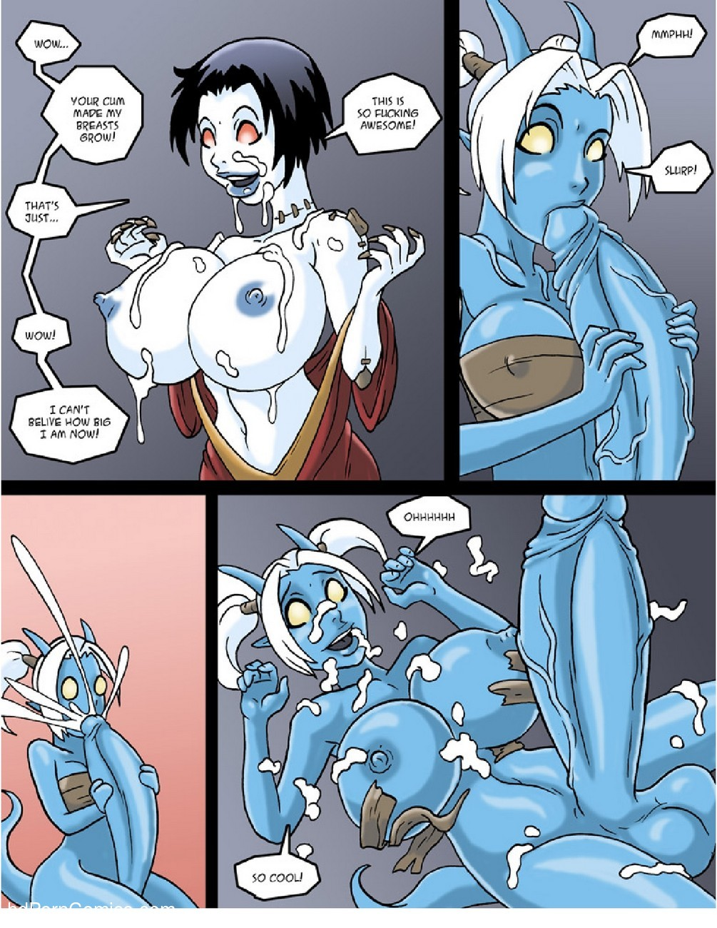 Test Subjects 4 free sex comic