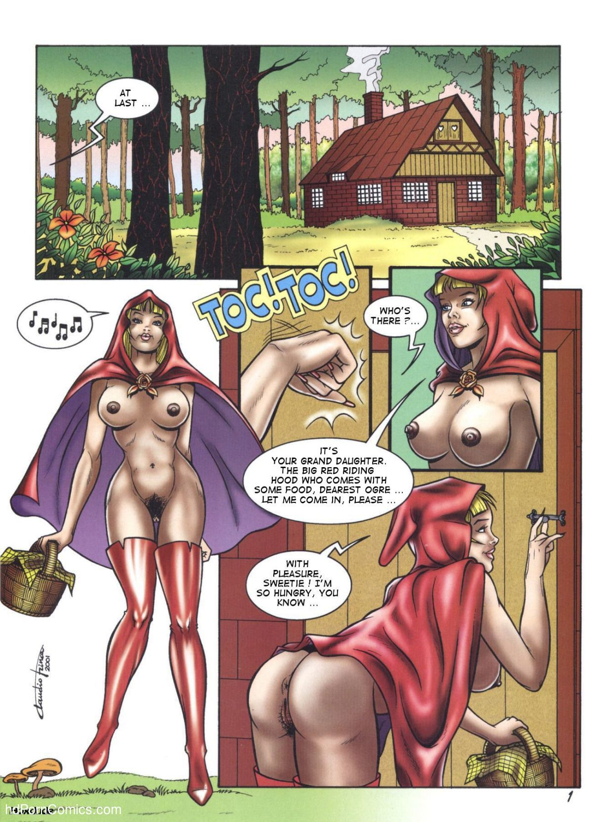 Have hit Little red riding hood cartoon porn for that