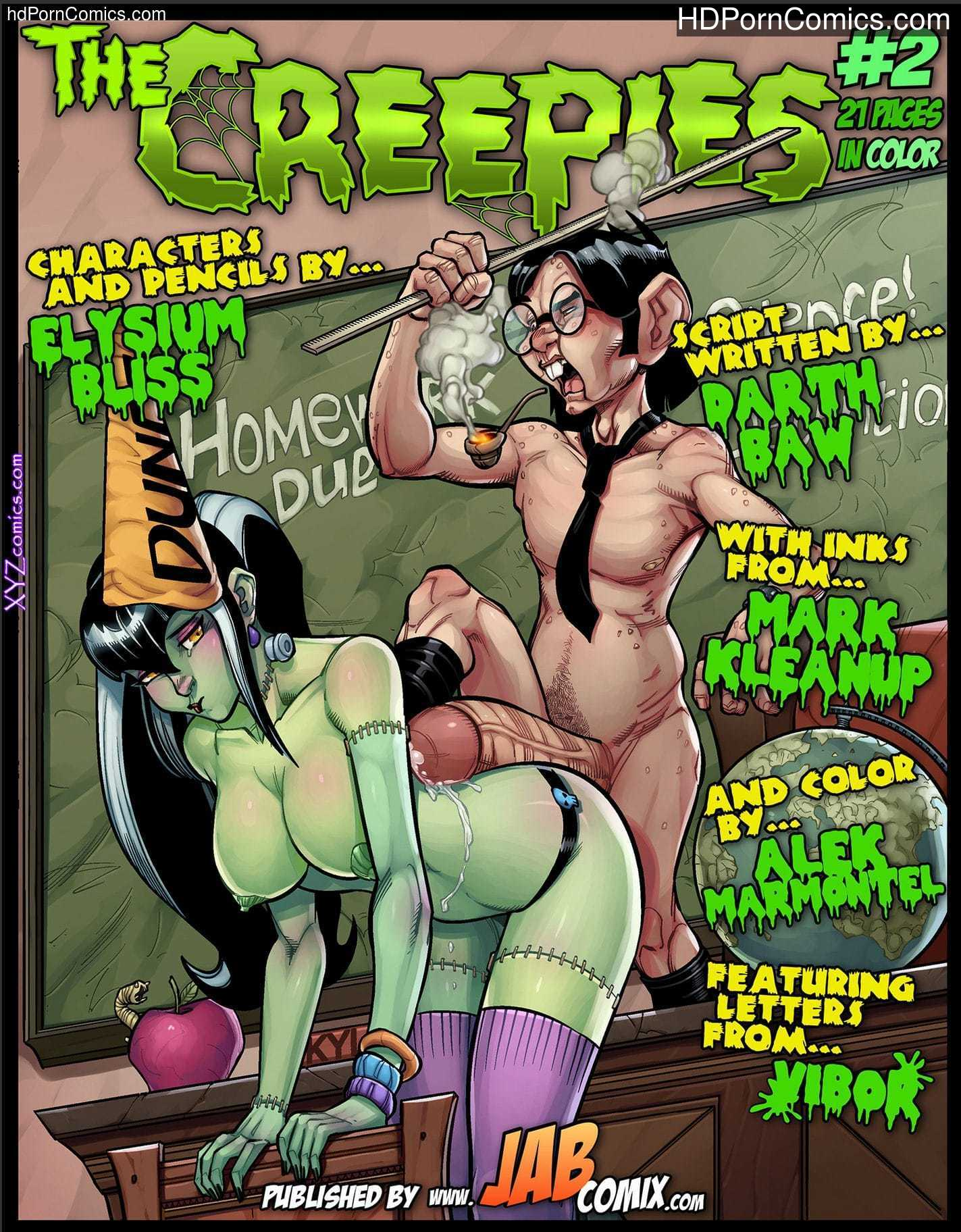 The Creepies 2 – Porncomics free Porn Comic
