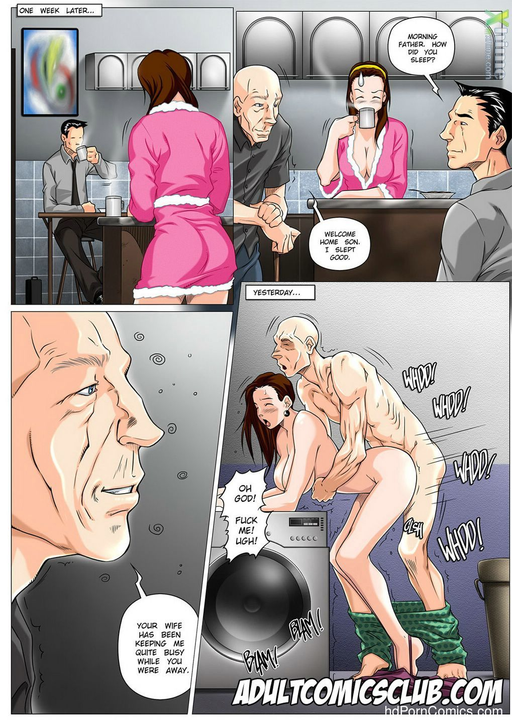 The Horny Stepfather 1-217 free sex comic